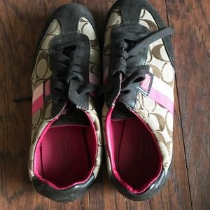 Used Coach Sneakers